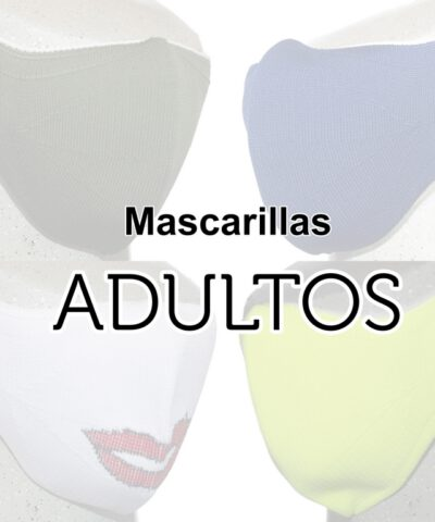 Mascarilla adulto
